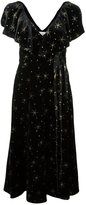 Valentino star embroidered dress - women - Silk/Polyamide/Viscose - 42