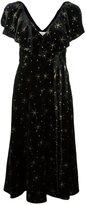 Valentino star embroidered dress - women - Viscose/Silk/Polyamide - 42