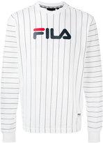 Fila stripe logo sweatshirt - men - Cotton - S