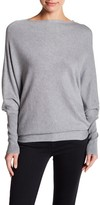 Blvd Asymmetrical Hem Sweater