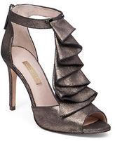 Louise et Cie Mahalah Metallic Leather Sandals