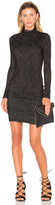Velvet by Graham & Spencer Dacey Long Sleeve Turtleneck Mini Dress