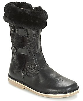 Citrouille et Compagnie JOSY girls's High Boots in Black