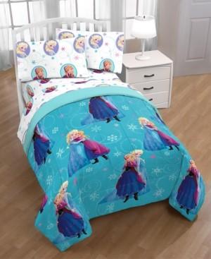 Disney Frozen Swirl Twin Bed in a Bag Bedding