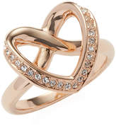 Swarovski Women's Cupidon Pavé Outline Heart Trend Ring