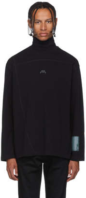 A-Cold-Wall* Black Overlock Turtleneck