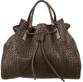 Bottega Veneta Intrecciato Leather Satchel
