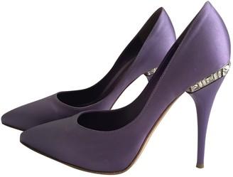 Gianvito Rossi Gianvito Purple Glitter Heels