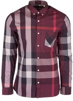 Burberry men's long sleeve shirt dress shirt thornaby US size 4056159