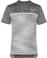 Nike Tennis Court Dry Challenger Space-Dyed Dri-Fit Tennis T-Shirt