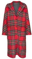 Burberry Checked wool and cashmere coat