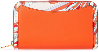 Emilio Pucci Printed Leather Wallet