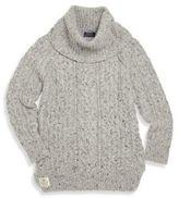 Ralph Lauren Girl's Wool Blend Turtleneck Sweater