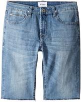 Hudson Kids - Hess Cut Off Slim Straight Shorts in Rhythm Blue Boy's Shorts