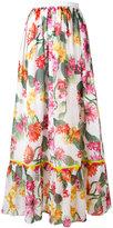 Blugirl floral skirt - women - Cotton/Polyester - 44