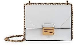 Fendi Women's Small Kan U Leather Shoulder Bag