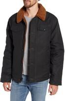 Schott NYC Faux Fur Collar Bomber Jacket