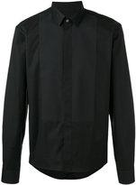 Les Hommes paneled shirt