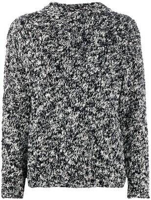 Lorena Antoniazzi Chunky Speckle Knit Jumper