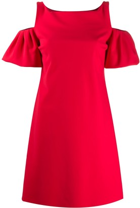 Le Petite Robe Di Chiara Boni Puff Sleeve Mini Dress