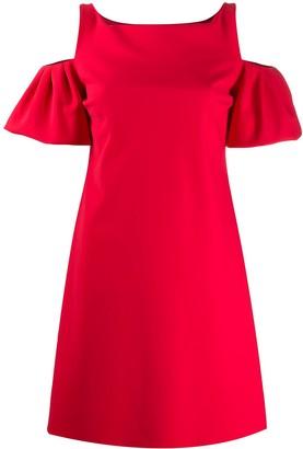 Le Petite Robe Di Chiara Boni Puff Sleeve Mini Dress