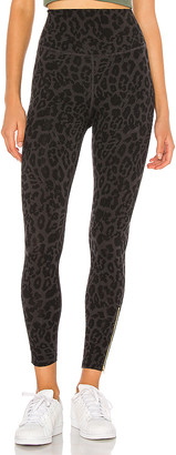 LnA Leopard Zipper Legging