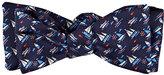 Salvatore Ferragamo Men's Sailboat-Print Silk Bow Tie