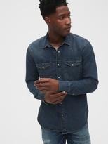 Gap 1969 Premium Selvedge Denim Shirt