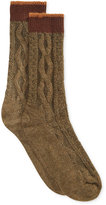 Hue Women's Tipped Cable Boot Socks