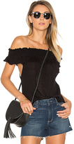 Goddis Farr Off Shoulder Top in Black. - size M/L (also in )