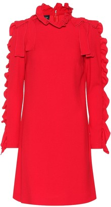 Giambattista Valli Ruffled crepe dress