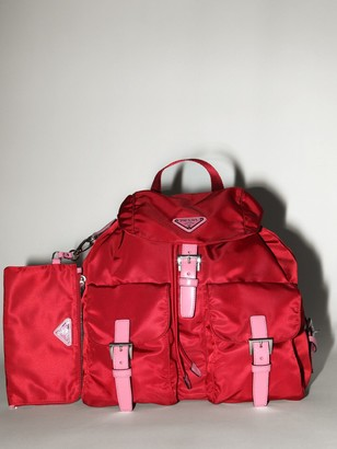 Prada LVR EXCLUSIVE NYLON CANVAS BACKPACK