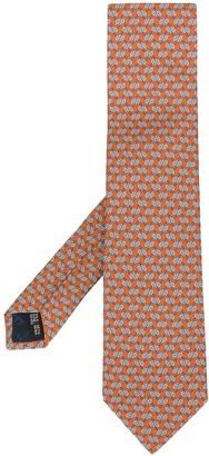 Salvatore Ferragamo Milord printed tie