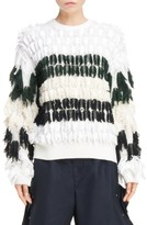 Toga Women's Fringe Knit Pullover