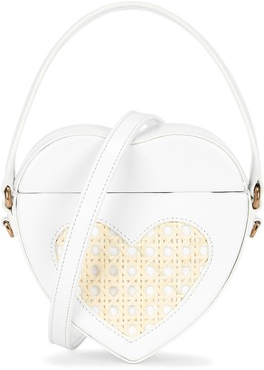 MEHRY MU Maria Mini Leather Top Handle Bag