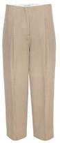 Acne Studios Murol Cropped Wool Twill Trousers