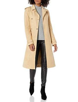 Armani Exchange A|X Women's Eco-Suede Trench Coat