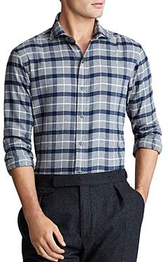 Polo Ralph Lauren Windowpane Plaid Classic Fit Shirt