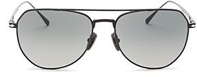 Persol Men's Brow Bar Aviator Sunglasses, 54mm