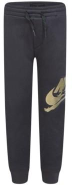 Jordan Little Boys Foil Logo Fleece Jogger Pants