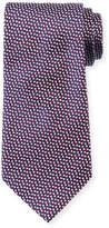 Giorgio Armani Micro Neat Silk Tie, Red