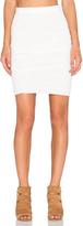 Velvet by Graham & Spencer Larsa Soft Texture Knit Skirt