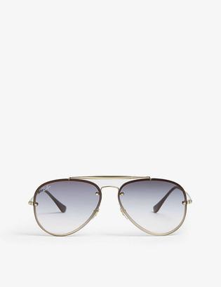 Ray-Ban RB3584 aviator sunglasses