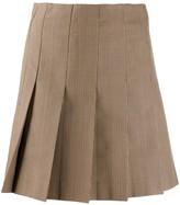 MSGM pleated mini skirt