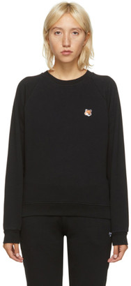 MAISON KITSUNÉ Black Fox Head Sweatshirt
