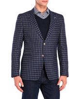 Sand Stitch Check Jacket