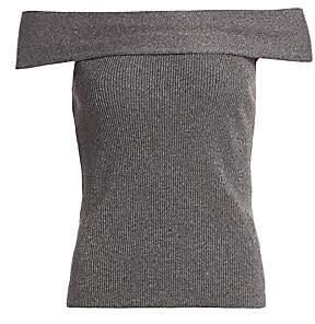 3.1 Phillip Lim Women's Lurex Off-The-Shoulder Sweater