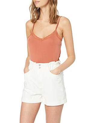 New Look Women's Paperbag Mom Relaxed Shorts,(Manufacturer Size:)