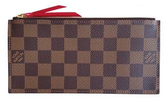 Louis Vuitton AdAle Brown Cloth Purses, wallets & cases