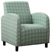 Monarch Kaleidoscope Print Accent Chair
